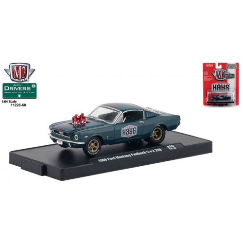 M2 Machines Drivers Release 60 - 1966 Ford Mustang Fastback