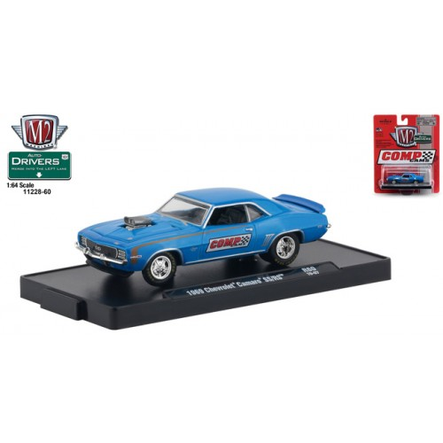 M2 Machines Drivers Release 60 - 1969 Chevy Camaro SS/RS