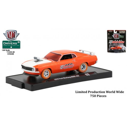 M2 Machines Drivers Release 58 - 1970 Ford Mustang BOSS 429 CHASE VERSION