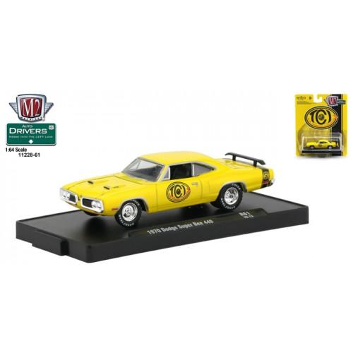 M2 Machines Drivers Release 61 - 1970 Dodge Super Bee 440