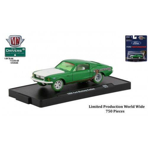 M2 Machines Drivers Release 65 - 1968 Ford Mustang Custom CHASE VERSION