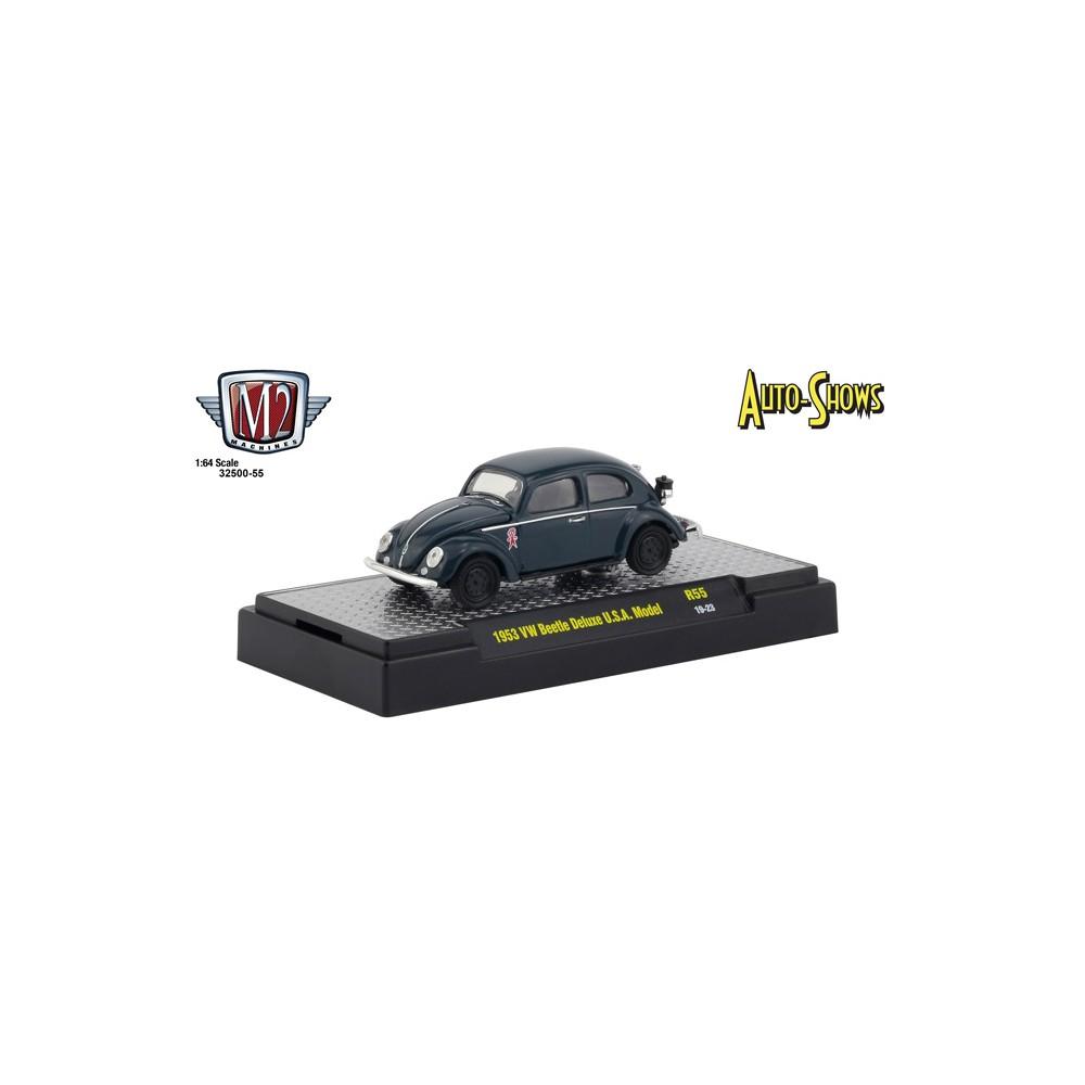 M2 Machines Auto-Shows Release 55 - 1953 Volkswagen Beetle