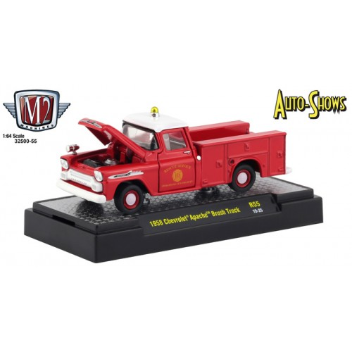 M2 Machines Auto-Shows Release 55 - 1958 Chevy Apache Brush Truck