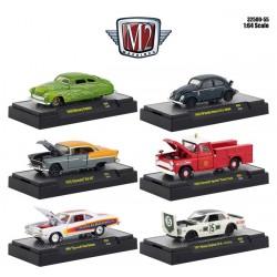 M2 Machines Auto-Shows Release 55 - Six Car Set