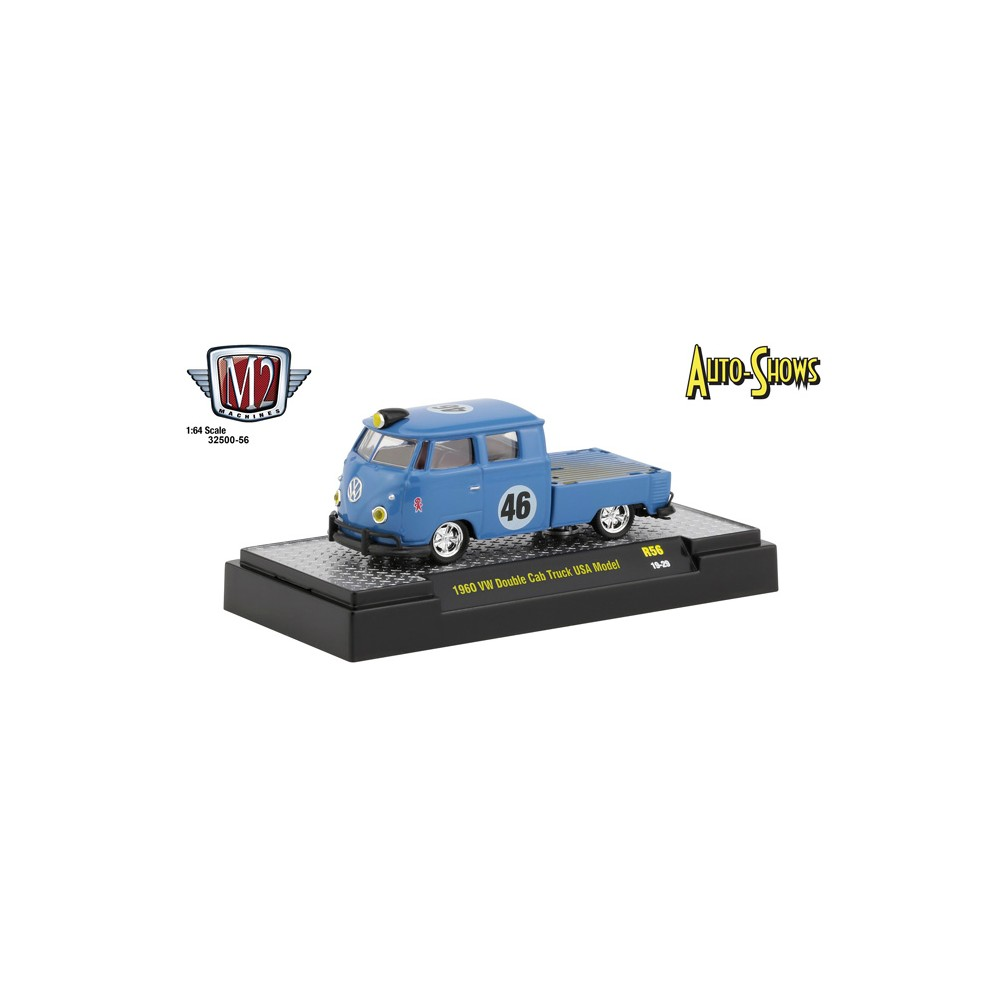 M2 Machines Auto-Shows Release 56 - 1960 Volkswagen Double Cab Truck