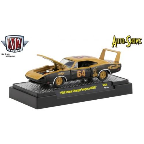 M2 Machines Auto-Shows Release 56 - 1969 Dodge Charger Daytona HEMI