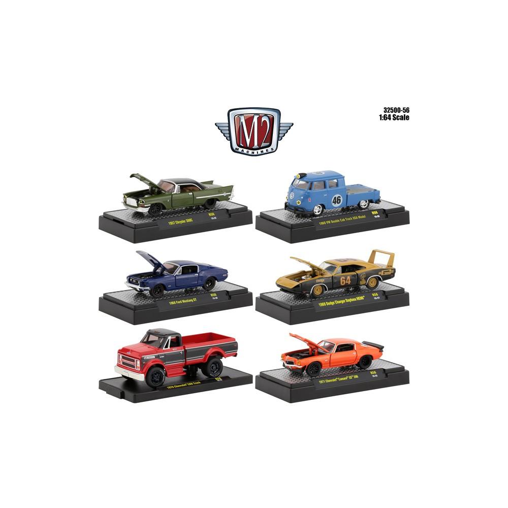 M2 Machines Auto-Shows Release 56 - Six Car Set