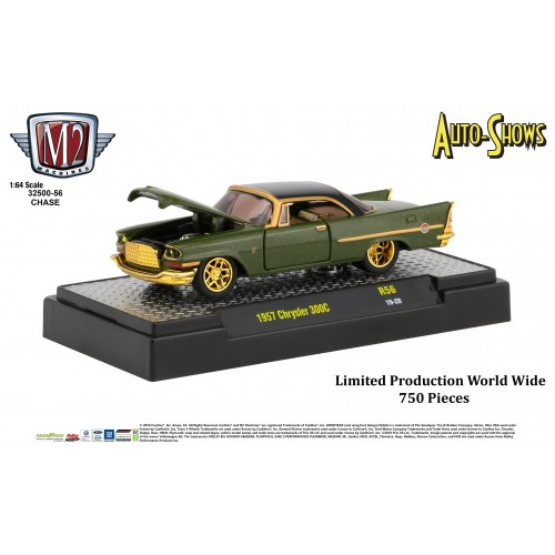 M2 Machines Auto-Shows Release 56 - 1957 Chrysler 300C CHASE VERSION