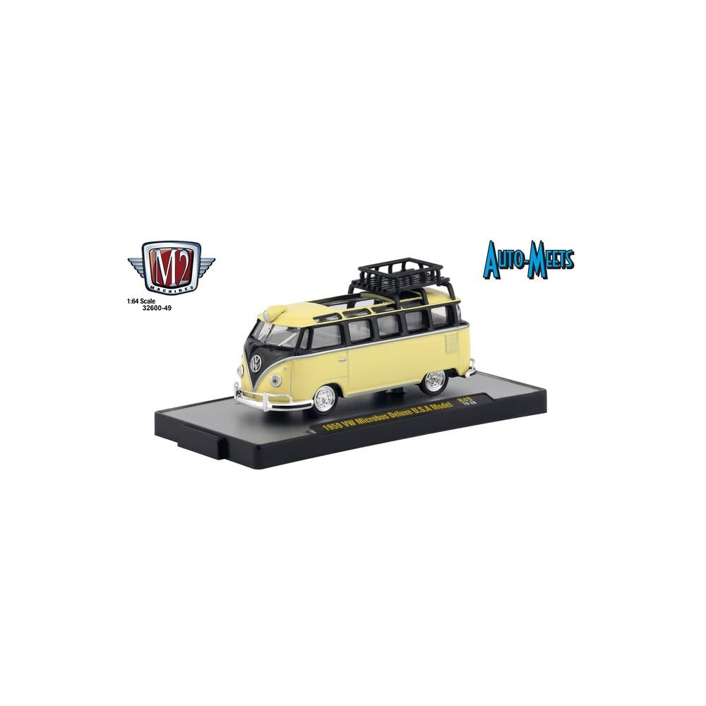 M2 Machines Auto-Meets Release 49 - 1959 Volkswagen Microbus Deluxe