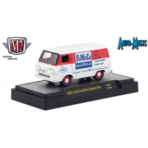 M2 Machines Auto-Meets Release 49 - 1965 Ford Econoline Van