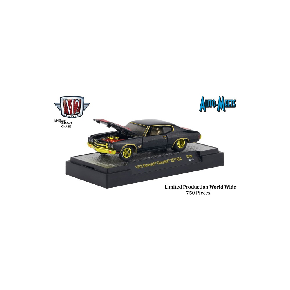 M2 Machines Auto-Meets Release 49 - 1970 Chevrolet Chevelle SS 454 CHASE VERSION
