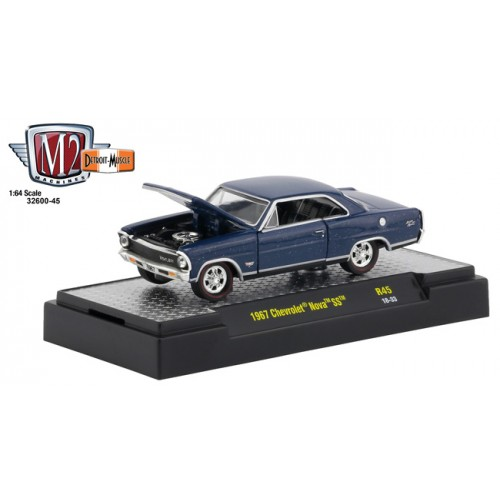 M2 Machines Detroit Muscle Release 45 - 1967 Chevy Nova SS