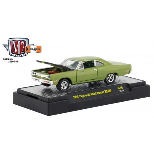 M2 Machines Detroit Muscle Release 45 - 1969 Plymouth Road Runner HEMI