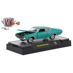 M2 Machines Detroit Muscle Release 45 - 1970 Ford Torino Cobra