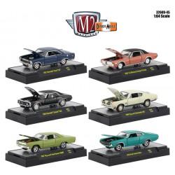 M2 Machines Detroit Muscle Release 45 - Six Car Set