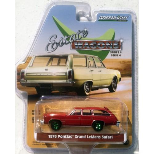 Greenlight Estate Wagons Series 4 - 1976 Pontiac Grend LeMans Safari GREEN MACHINE