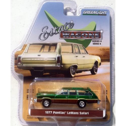 Greenlight Estate Wagons Series 4 - 1977 Pontiac LeMans Safari GREEN MACHINE