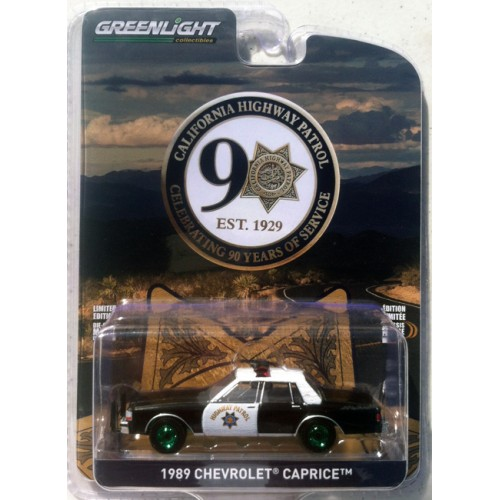 Greenlight Anniversary Collection Series 10 - 1989 Chevrolet Caprice GREEN MACHINE