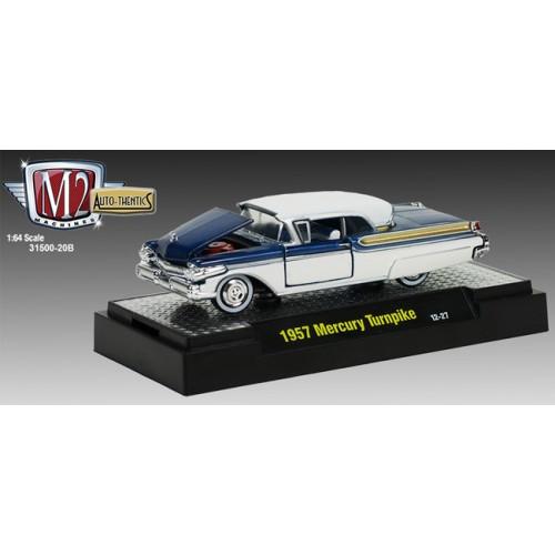 M2 Machines Auto-Thentics Release 20B - 1957 Mercury Turnpike Cruiser