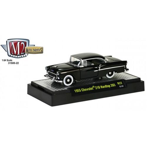 M2 Machines Auto-Thentics Release 22 - 1955 Chevy 210 Hardtop 265