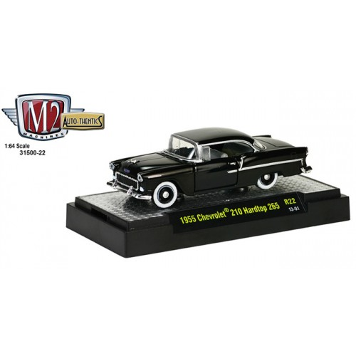 M2 Machines Auto-Thentics Release 22 - 1955 Chevy 210 Hardtop 265