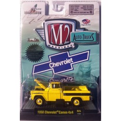 M2 Machines Auto-Trucks Release 25 - 1958 Chevrolet Cameo 4x4 Clamshell Package