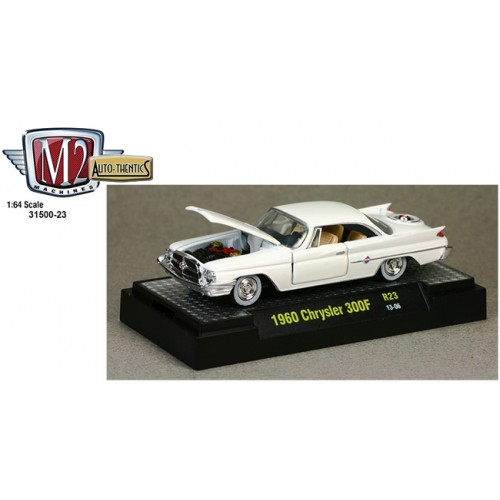 M2 Machines Auto-Thentics Release 23 - 1960 Chrysler 300F Clamshell Package