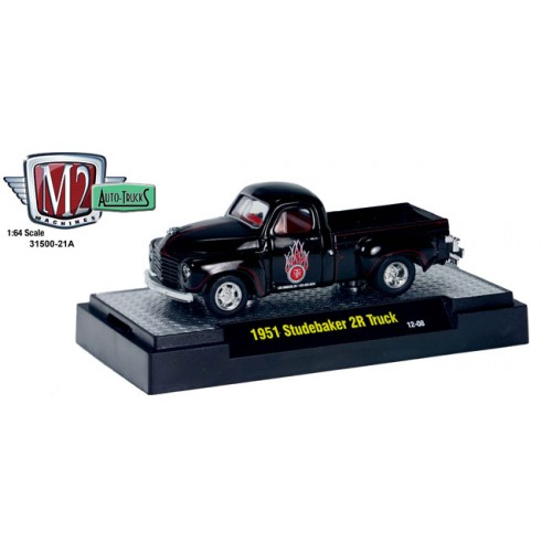 M2 Machines Auto-Trucks Release 21 - 1951 Studebaker 2R Truck Clamshell Package