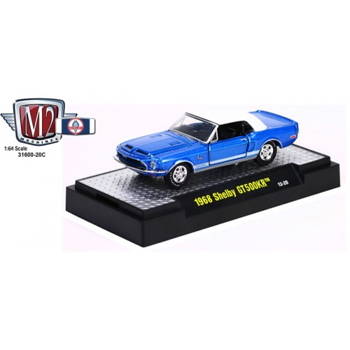 M2 Machines Detroit Muscle Release 20 - 1968 Shelby GT500KR Clamshell Package