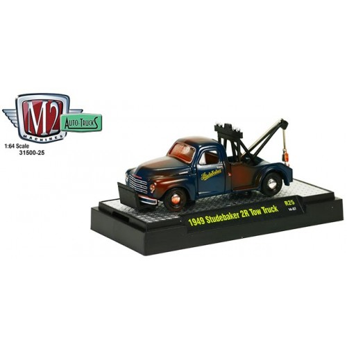 M2 Machines Auto-Trucks Release 25 - 1949 Studebaker 2R Tow Truck Clamshell Package
