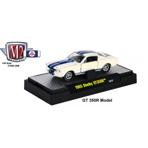 M2 Machines Detroit Muscle Release 20 - 1965 Shelby GT350R Clamshell Package