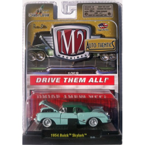 M2 Machines Auto-Thentics Release 20 - 1954 Buick Skylark Clamshell Package