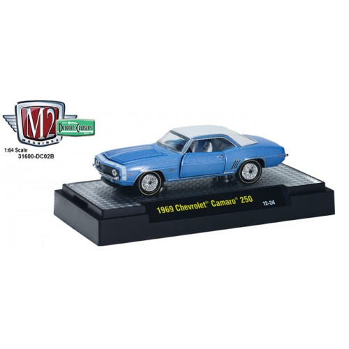 M2 Machines Detroit Cruisers Release 2 - 1969 Chevrolet Camaro 250 Clamshell Package