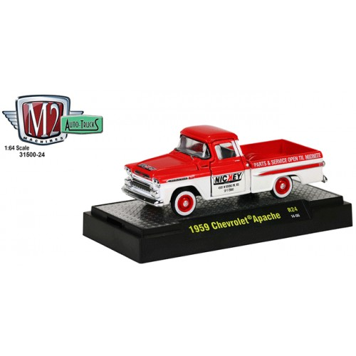 M2 Machines Auto-Trucks Release 24 - 1959 Chevrolet Apache Clamshell Package