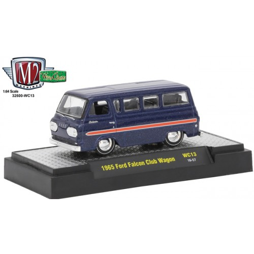 M2 Machines Wild Card Release 13 - 1965 Ford Falcon Club Wagon