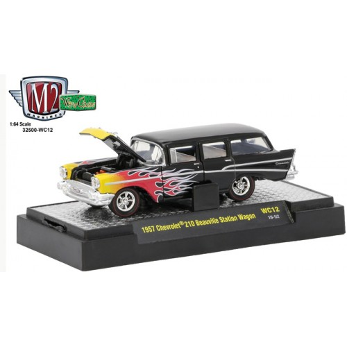 M2 Machines Wild Cards Release 12 - 1957 Chevy 210 Beauville Station Wagon