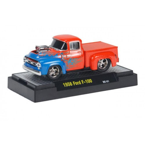 M2 Machines Wild Cards Ground Pounders Release 1 - 1956 Ford F-100