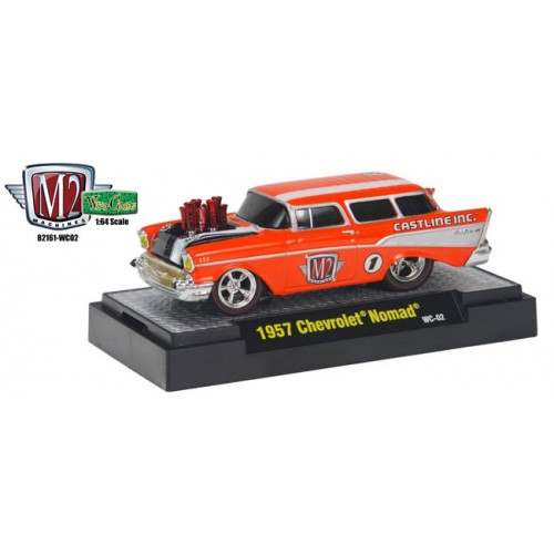 M2 Machines Wild Cards Ground Pounders Release 2 - 1957 Chevrolet Nomad