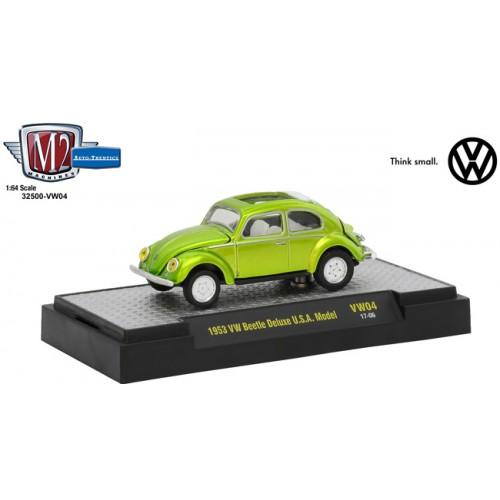 M2 Machines Auto-Thentics Volkswagen Release 4 - 1953 Volkswagen Beetle Deluxe