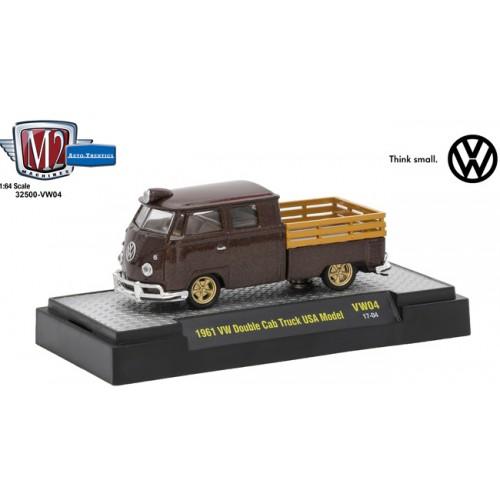 M2 Machines Auto-Thentics Volkswagen Release 4 - 1961 Volkswagen Double Cab Truck