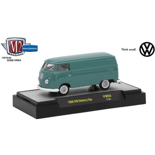 M2 Machines Auto-Thentics Volkswagen Release 4 - 1960 Volkswagen Delivery Van