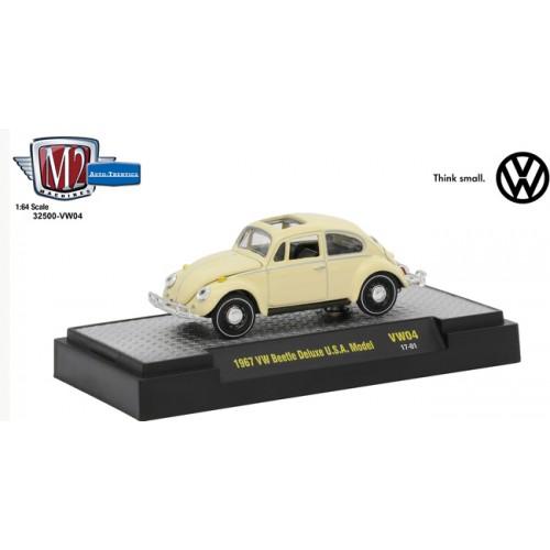 M2 Machines Auto-Thentics Volkswagen Release 4 - 1967 Volkswagen Beetle Deluxe