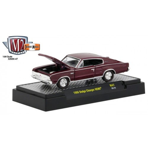 M2 Machines Detroit Muscle Release 47 - 1966 Dodge Charger HEMI