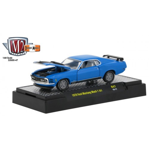 M2 Machines Detroit Muscle Release 47 - 1970 Ford Mustang Mach I 351