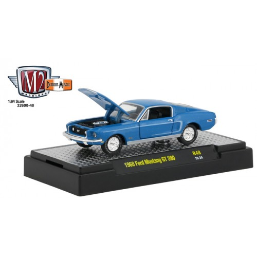 M2 Machines Detroit Muscle Release 48 - 1968 Ford Mustang GT 390