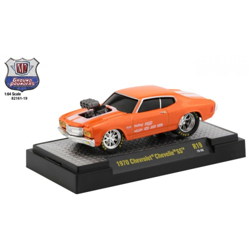 M2 Machines Ground Pounders Release 19 - 1970 Chevrolet Chevelle SS