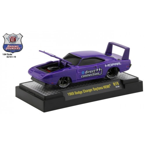 M2 Machines Ground Pounders Release 19 - 1969 Dodge Charger Daytona HEMI