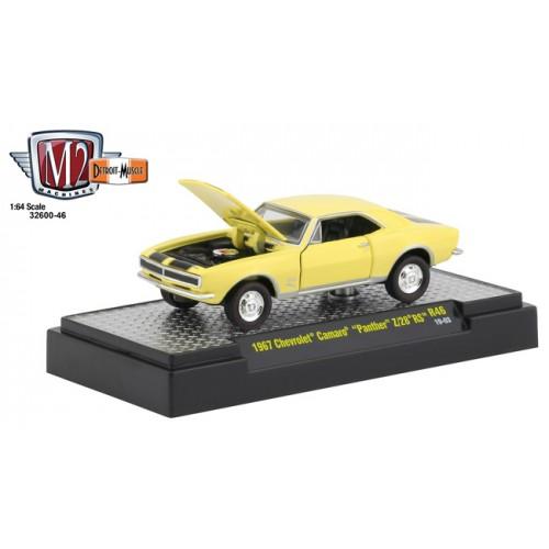 M2 Machines Detroit Muscle Release 46 - 1967 Chevrolet Camaro Z/28 RS