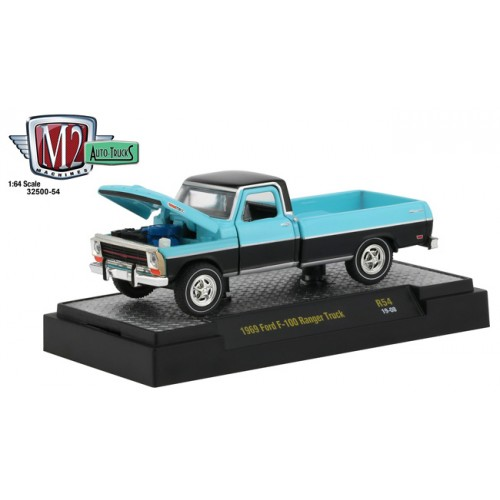 M2 Machines Auto-Trucks Release 54 - 1969 Ford F-100 Ranger Truck