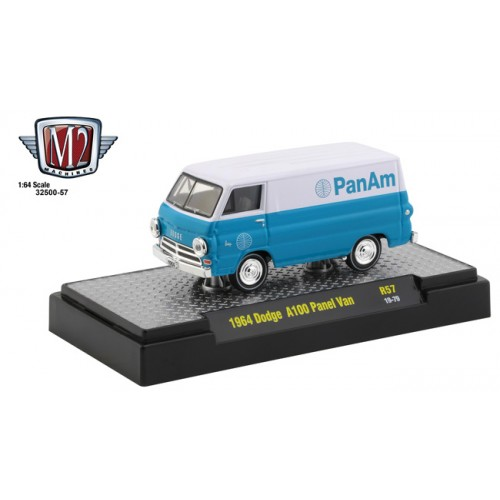 M2 Machines Auto-Thentics Release 57 - 1964 Dodge A100 Panel Van Pan Am